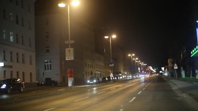 streets of vienna - car point of view stock videos & royalty-free footage