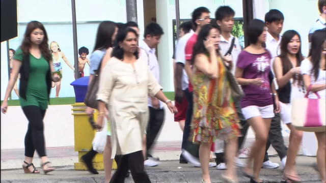 streetscape in malaysia - malaysia stock videos & royalty-free footage
