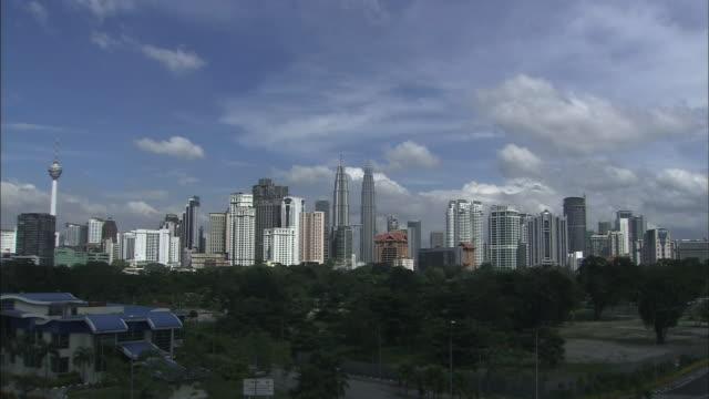 Streetscape in Malaysia