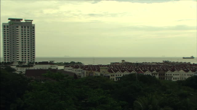 streetscape in malaysia - malacca stock videos and b-roll footage