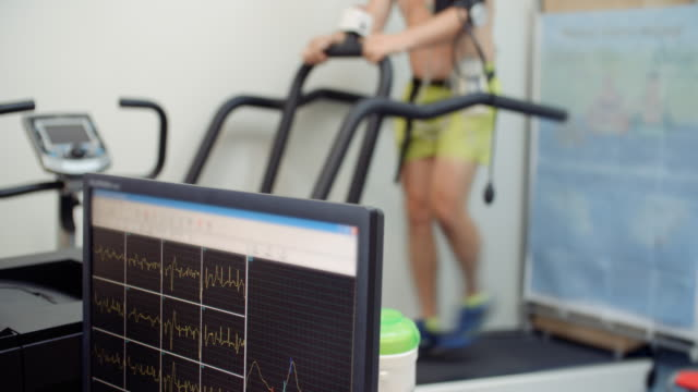 stress test, medical test - treadmill stock videos & royalty-free footage