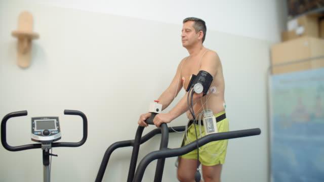stress-test, medizinischer test - anstrengung stock-videos und b-roll-filmmaterial