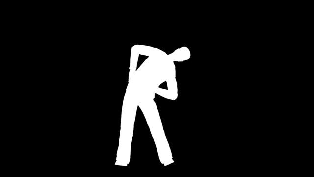 stretching-Übungen-Silhouette