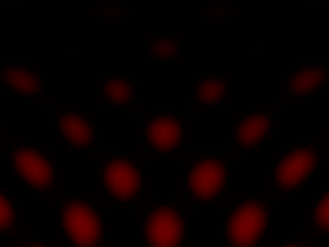 stockvideo's en b-roll-footage met stretching red dots of light - stippen