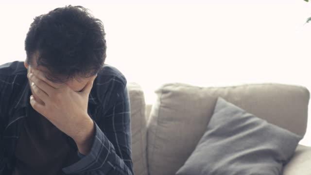 Stricken with grief