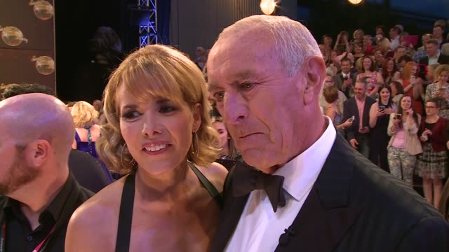 Strictly Come Dancing 2015 launch Natalie Lowe / Darcey Bussell and Len Goodman interview SOT