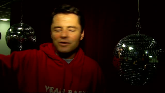 strictly come dancing: semi-final backstage interviews; chris hollins interview continues sot - on his highlights of the series / performing in... - ストリクトリーカムダンシング点の映像素材/bロール