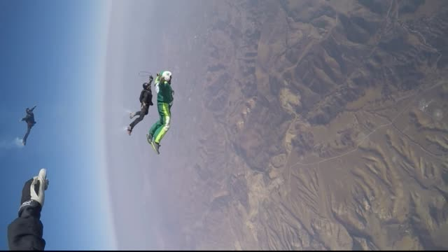 Stride Gum Presents Heaven Sent Skydiver Luke Aikins Takes Historic Flying Leap From 25000 feet With No Parachute Or Wing Suit Live on July 30 2016...