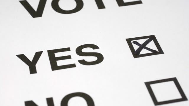 vídeos de stock, filmes e b-roll de strike vote yes - greve