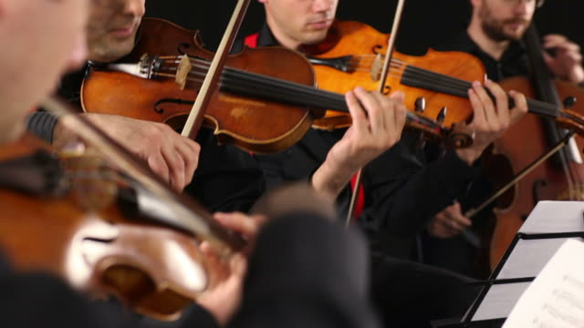 string quartet - orchestra stock videos & royalty-free footage