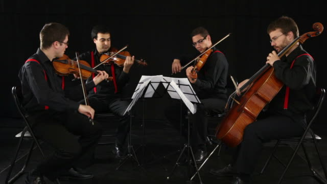 string quartet - string stock videos and b-roll footage