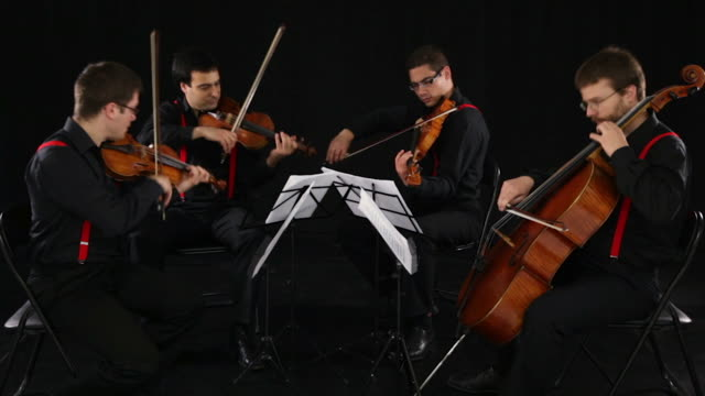 string quartet - string instrument stock videos and b-roll footage