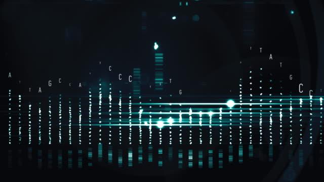 dnaストリングス - rna点の映像素材/bロール