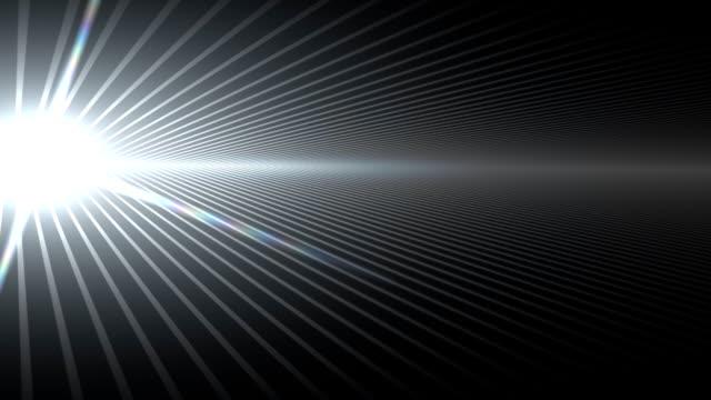 vídeos y material grabado en eventos de stock de raya horizonte negro - vista inclinada