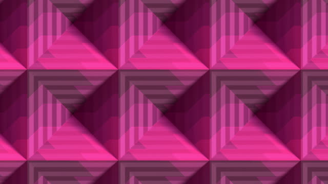 striped boxes digital seamless loop animation. design element. optical illusion, psychedelic lines art background. 3d rendering. hd resolution - design element stock videos & royalty-free footage