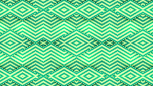 striped geometric background. repetition kaleidoscopic motion graphic design. digital seamless loop animation. 3d rendering. 4k, ultra hd resolution - simplicity stock videos & royalty-free footage