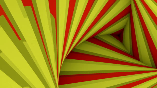 striped hypnotic tunnel abstract striped texture. video art digital seamless loop animation. optical illusion effect. 3d rendering. hd resolution - illusion stock videos & royalty-free footage