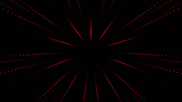 striped led tunnel - illustration technique stock videos & royalty-free footage
