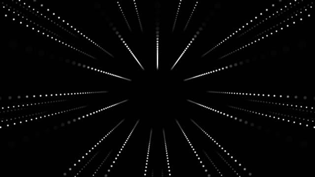 gestreifte led tunnel - led leuchtmittel stock-videos und b-roll-filmmaterial