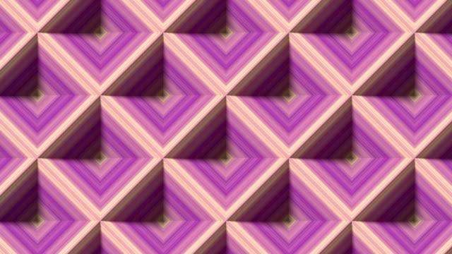 vidéos et rushes de rayed rhombus sans fin se déplaçant pour la conception de concept. animation en boucle sans couture de rendu 3d. résolution hd - diamand