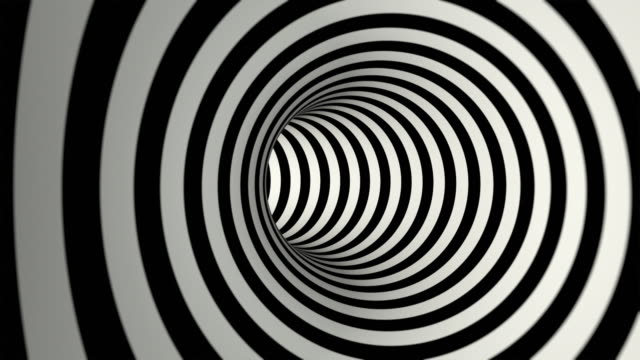 striped tunnel (loopable) - tunnel stock videos & royalty-free footage