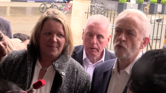 strong language jeremy corbyn warned 'write labour off at your peril' after candidate lisa forbes won the peterborough byelection - jeremy corbyn stock videos and b-roll footage