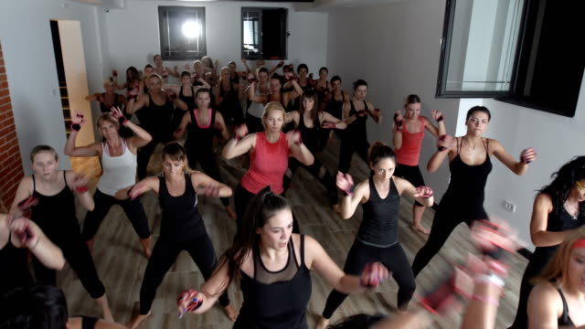 stronger than ever - aerobics stock videos & royalty-free footage