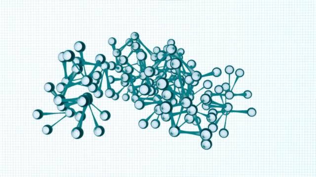 vídeos y material grabado en eventos de stock de estructura-animación - neuronas