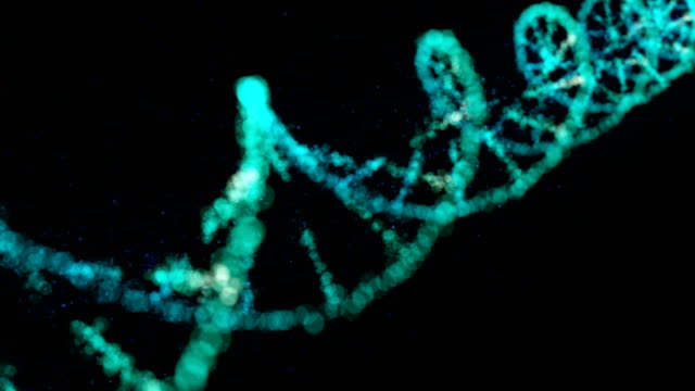 dna structure - helix model stock videos & royalty-free footage