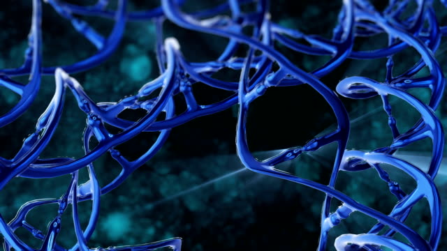 dna structure - nanotecnologia video stock e b–roll