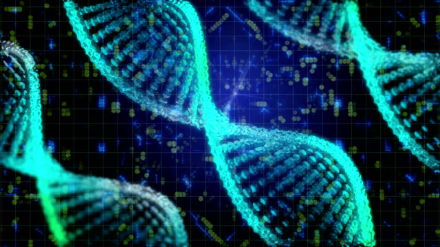 dna structure - spiral stock videos & royalty-free footage