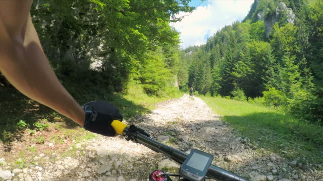 pov struggling uphill. - mountain biking stock videos and b-roll footage