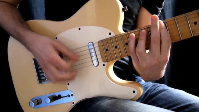Strumming Rock Guitar