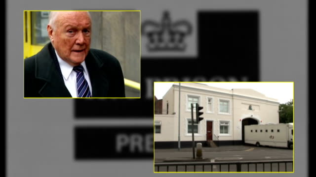 stuart hall sentence for indecent assaults doubled england london / lancashire stuart hall / preston prison / the royal courts of justice / attorney... - 司会者 スチュアート・ホール点の映像素材/bロール