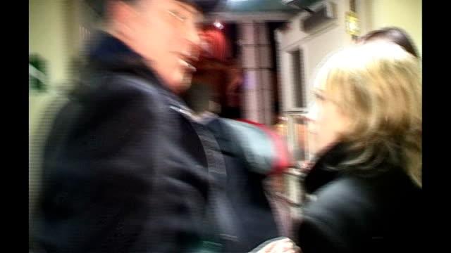 michael barrymore arrested on suspicion of murder; lib scotland: edinburgh: ext/night * * beware flash photography * * michael barrymore interviewed... - michael barrymore stock-videos und b-roll-filmmaterial
