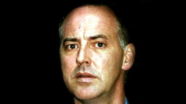 michael barrymore arrested on suspicion of murder; graphic still michael barrymore - michael barrymore stock-videos und b-roll-filmmaterial