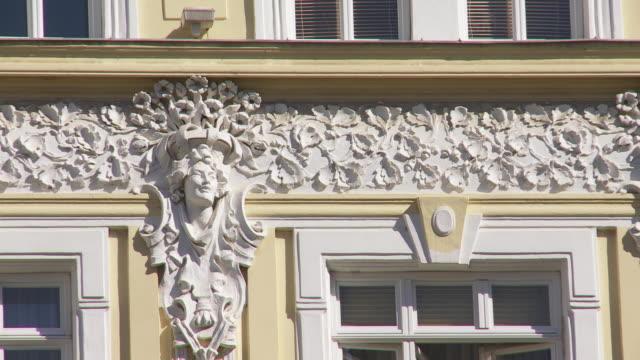 CU PAN Stucco Decoration at a Vienna House Facade