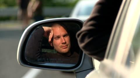 hd: stuck in traffic - traffic jam stock videos & royalty-free footage