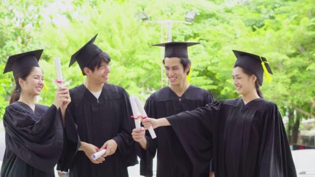 Student  Celebrating Graduation