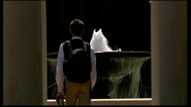 US student debt hits one trillion dollars Barack Obama tours college campuses USA Washington DC George Washington University EXT Students along at...