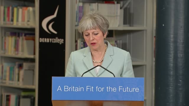 Theresa May speech Theresa May MP speech SOT Today I'm launching a review into post18 education Philip Augur has agreed to chair that panel How...