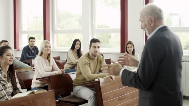 Students at classroom