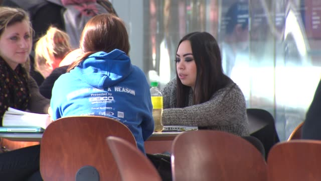 students at harper community college on february 19, 2014 in chicago, illinois. - community college stock videos & royalty-free footage