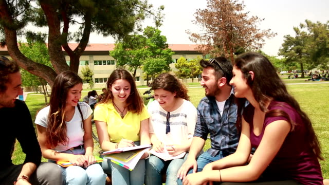 Students at the campus