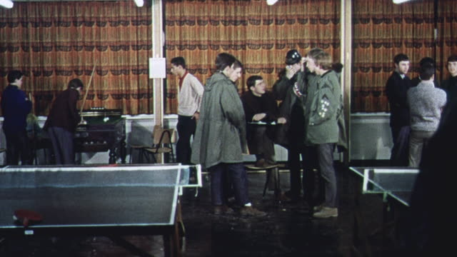 ds students gathering information by interviewing other students / united kingdom - 1965 stock videos & royalty-free footage