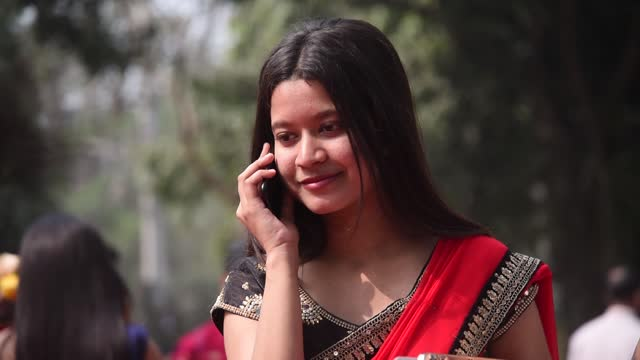 students of cotton university arrives to offer prayer to goddess saraswati on the occasion of basant panchami, on february 16, 2021 in gauhati,... - telephone stock videos & royalty-free footage