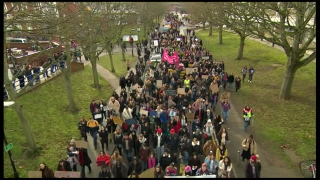 students protest at warwick university over the way the university mishandled complaints over rape threat allegations by students, in february 2019 - threats stock videos & royalty-free footage