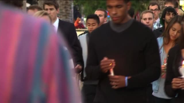 Students Silently March in Wake of Isla Vista Shooting