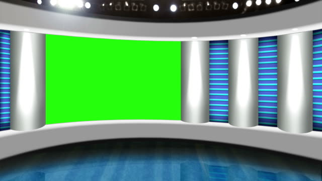 TV studio background