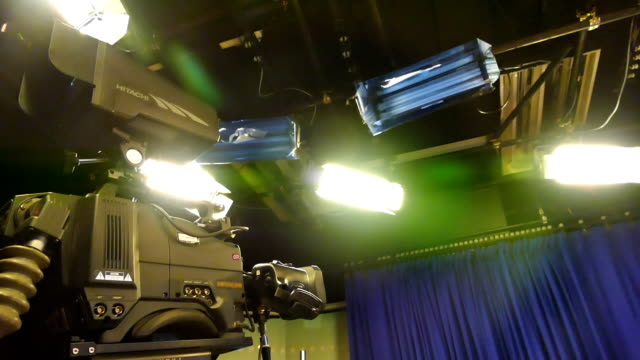 tv studio - stage set stock videos & royalty-free footage
